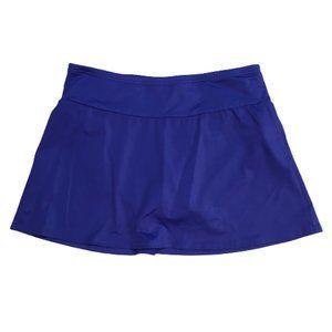 Lands' End Tummy Control Skirt Swim Bikini Bottom